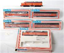 156 American Flyer Southern Pacific passenger set 8150