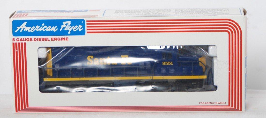 170: American Flyer Santa Fe GP-20 8651