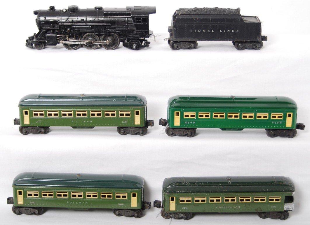 184: Lionel steam locomotive, 6466WX, 2440, 2440, 2440,