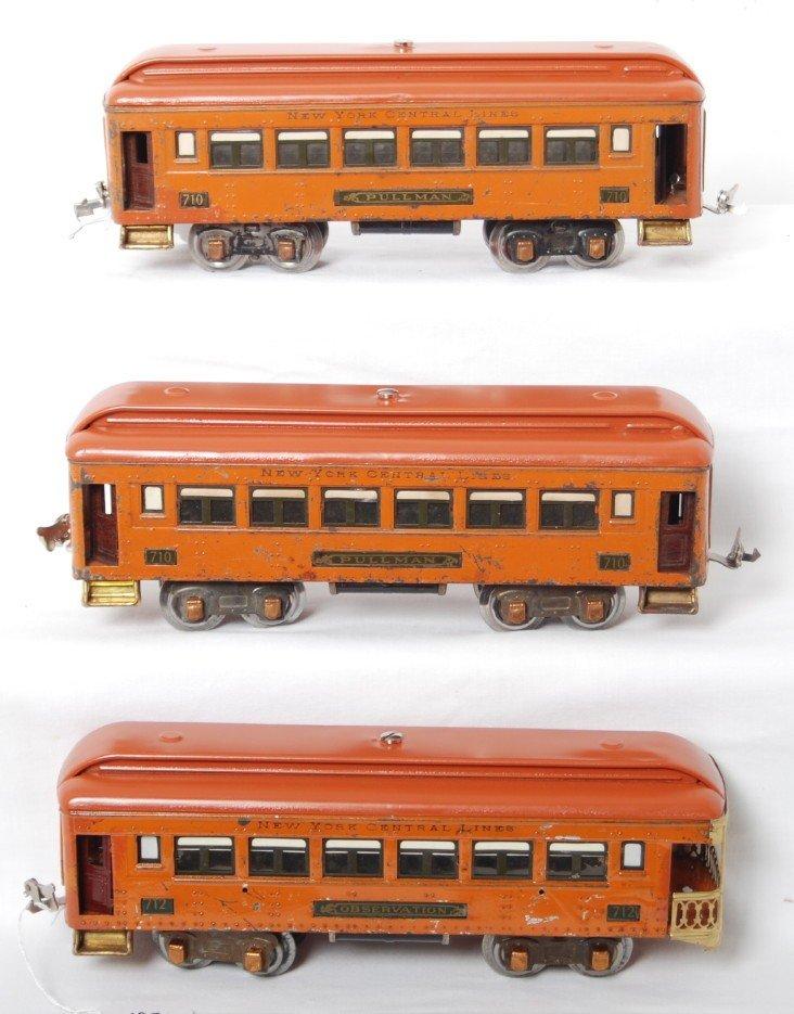 187: Lionel 710, 710, 712 New York Central Lines passen