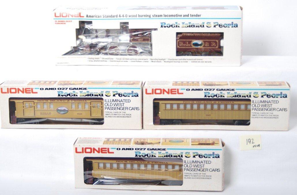 192: Lionel 8004 Rock Island and Peoria set