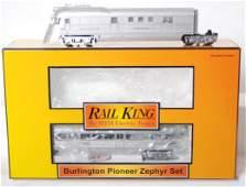 361: MTH Railking Burlington Pioneer zephyr