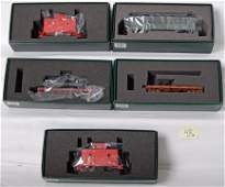 432: 5 On30 Spectrum freight cars