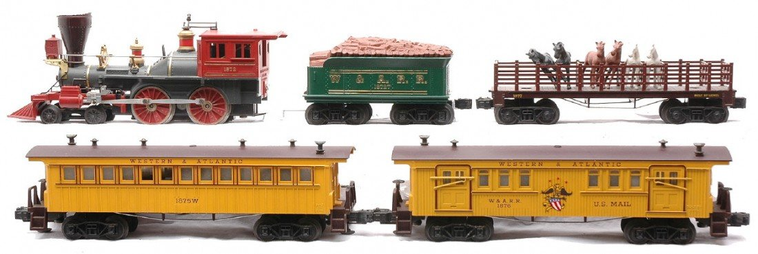 12: Lionel The General W&A Set no. 2528WS