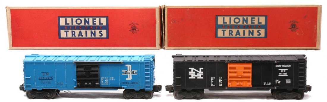 19: Lionel 6464-425 New Haven 6464-475 B&M MIB
