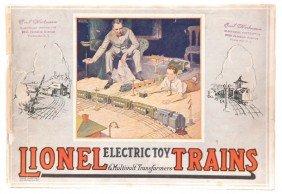 Lionel Prewar Consumer Catalog For 1923