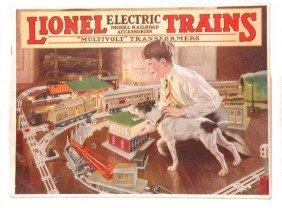 Lionel Prewar Consumer Catalog For 1926