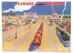 Lionel Prewar Consumer Catalog For 1930