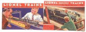 Lionel Prewar Consumer Catalogs For 1933 1934