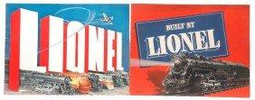 Lionel Prewar Consumer Catalogs For 1938 1939