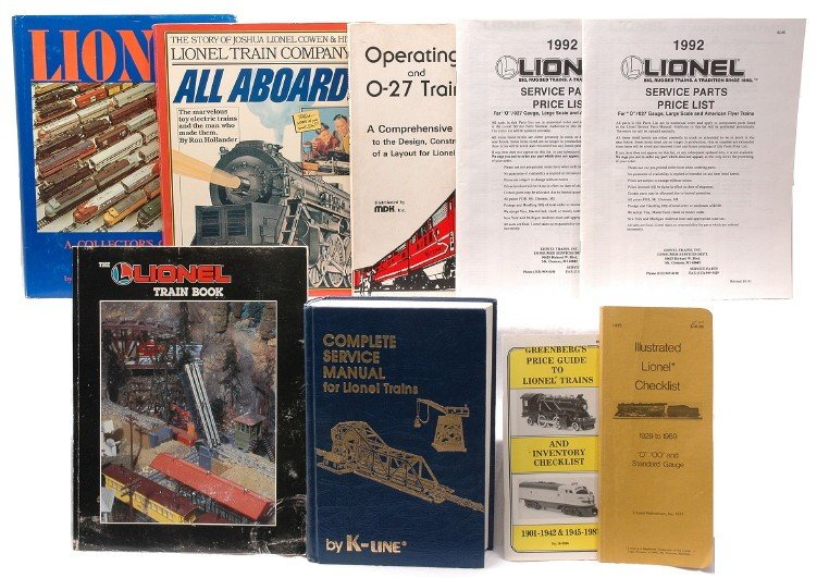 217: Selection of Train Books Price Guides and List