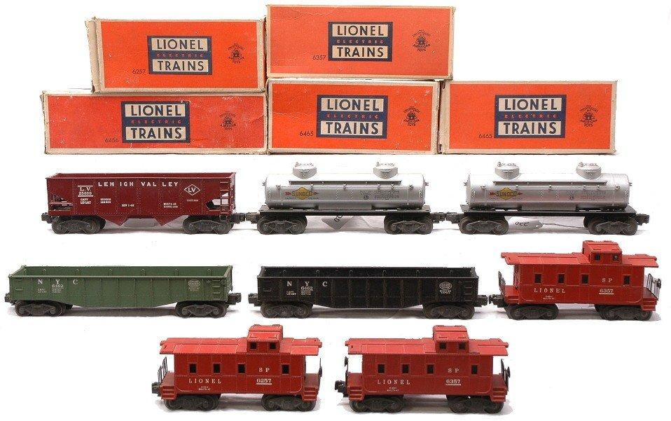 220: Lionel Freights 6456 2-6465 2-6462 2-6357 6257