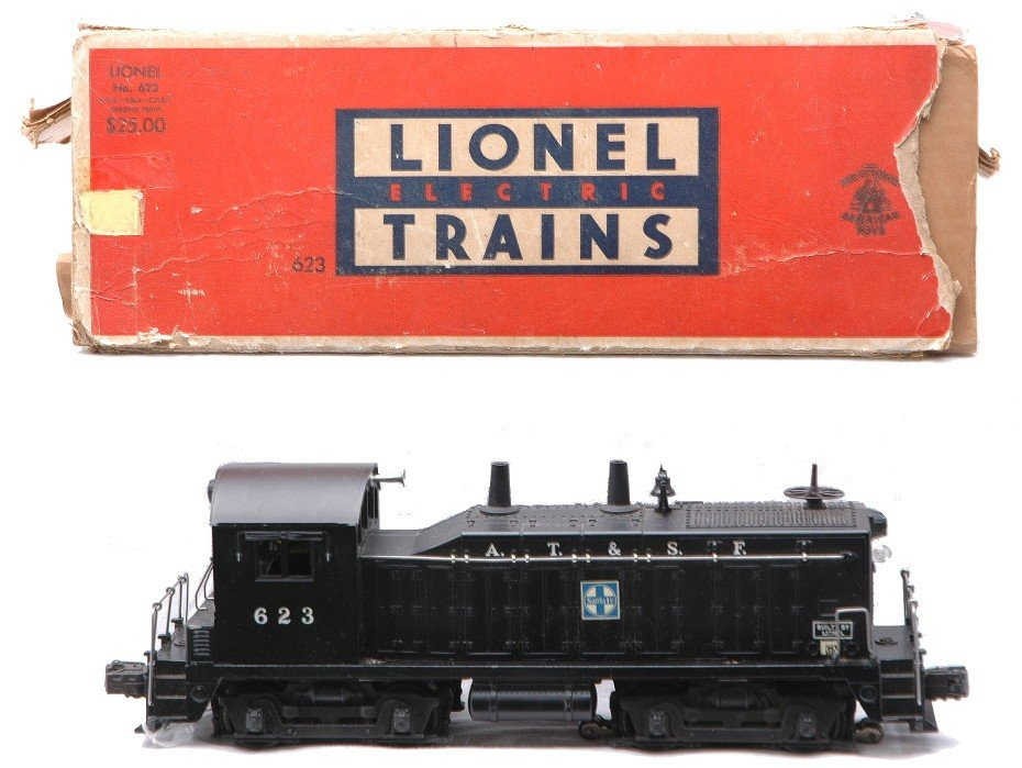 221: Lionel 623 AT&SF NW2 Switcher Boxed