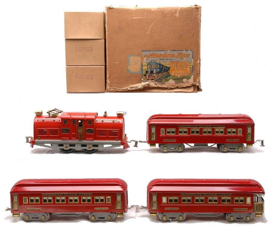 233: Am Flyer Red Pass Set 4633 4331 4331 4332 OBs