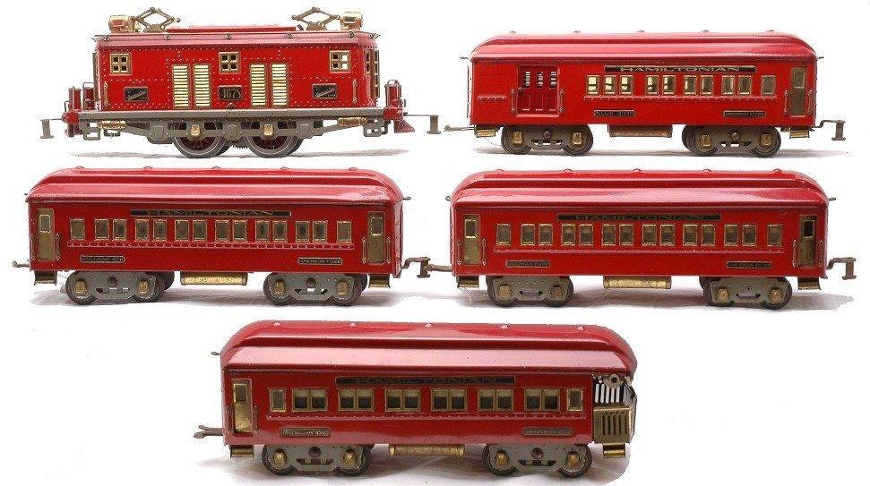 239: Am Flyer 2-Tone Red Hamiltonian Set 1484 4341