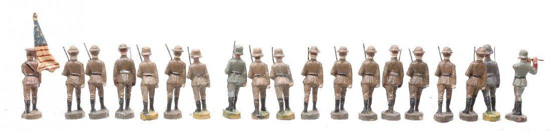 343: Elastolin German Military Composition Figures - 2