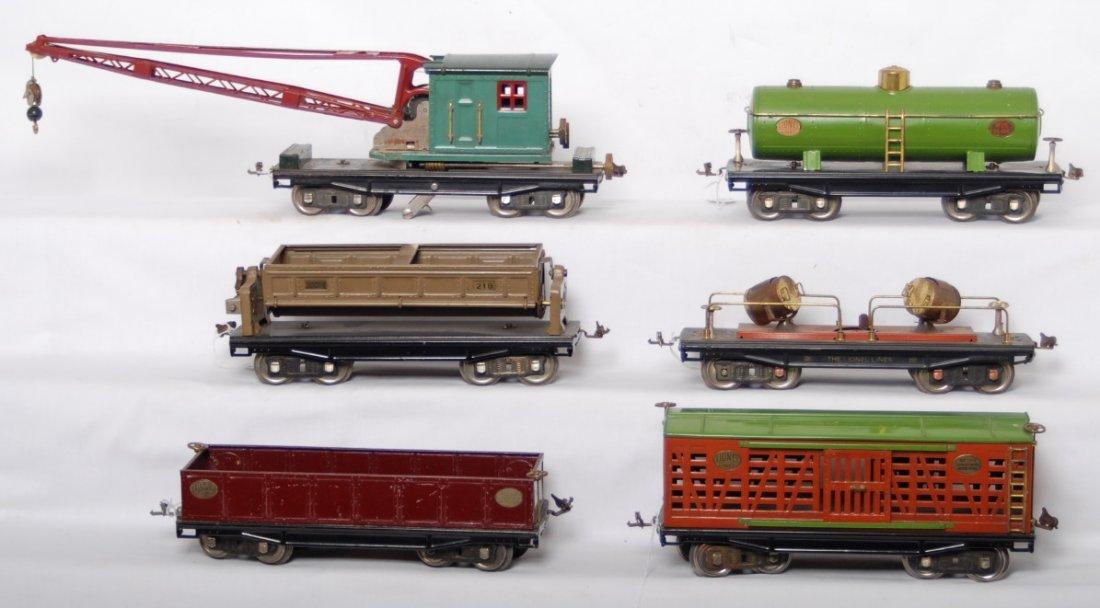 806: Lionel 212, 213, 215, 218, 219, 220 standard gauge