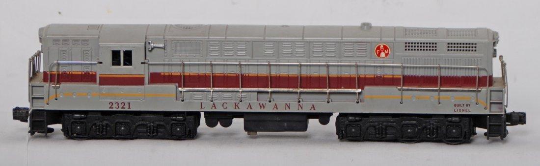 807: Lionel 2321 Lackawanna Train master diesel loco