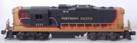 811: Lionel 2349 Northern Pacific GP-9 diesel locomotiv