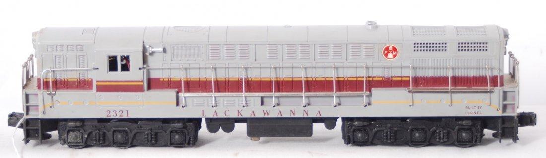 813: Lionel 2321 Lackawanna FM Train master diesel