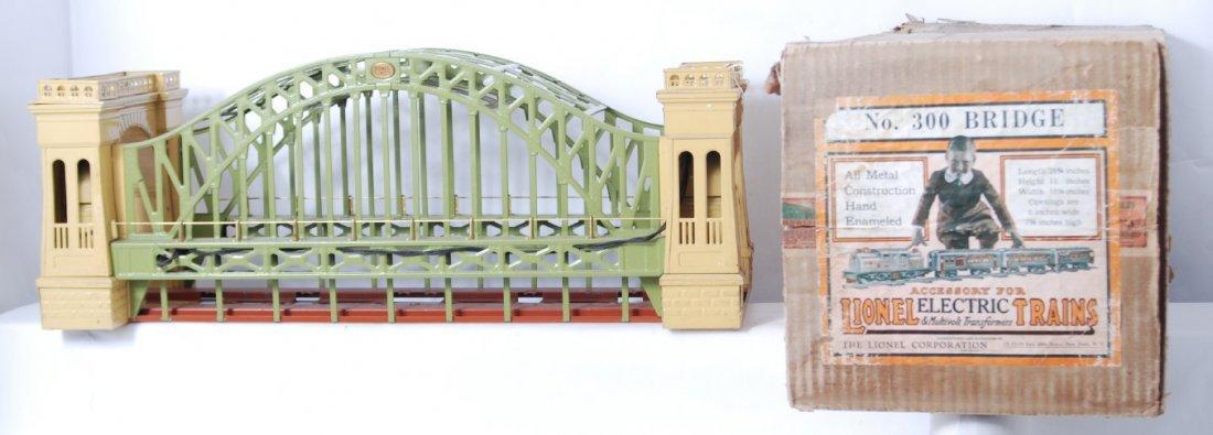 814: Lionel 300 Hellgate bridge in OB