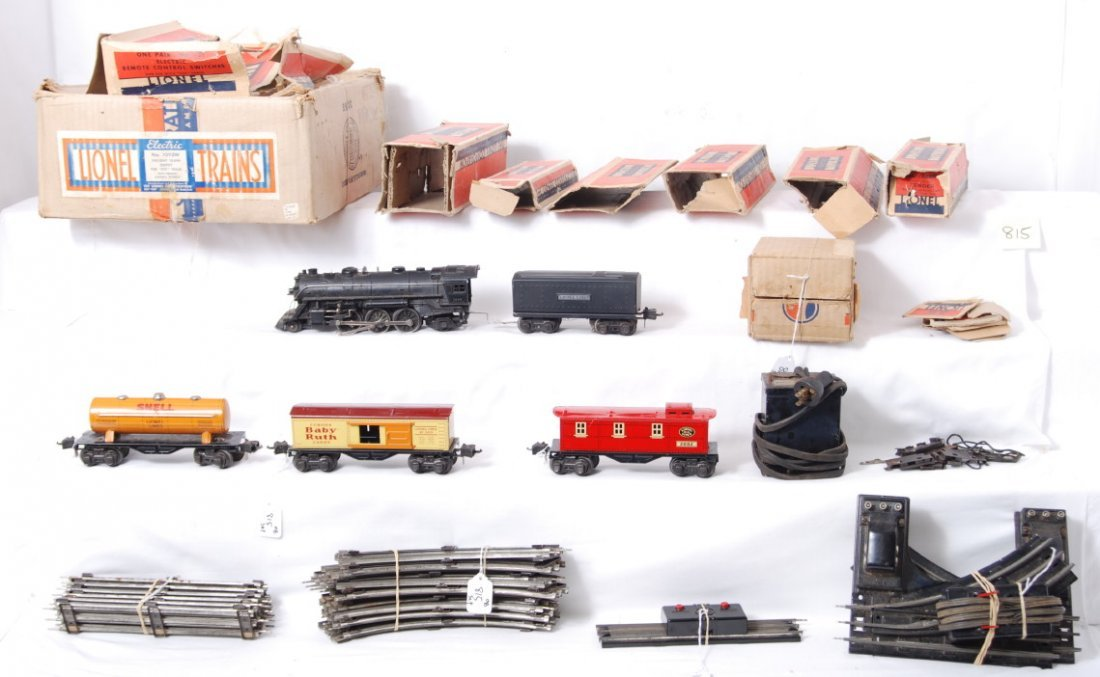 815: Lionel boxed 1093W freight train outfit w/1666, 26