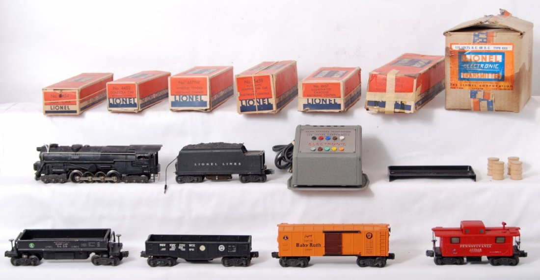 817: Lionel electronic set in boxes, 671R w/4671W.....