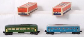 819: Lionel 2430 and 6440 Pullman passenger cars in OB