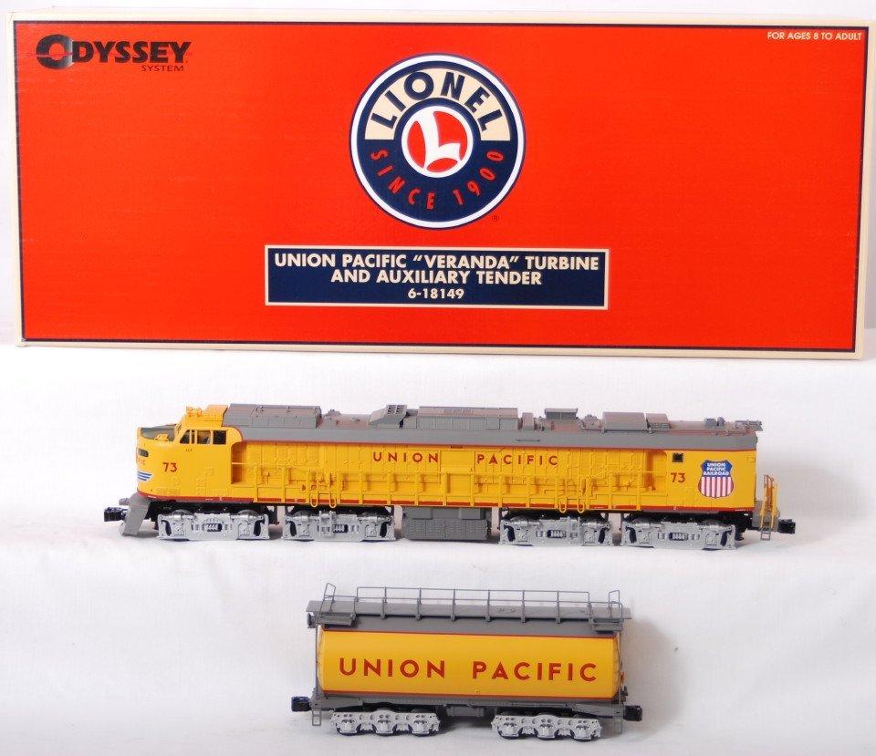 973: Lionel Union Pacific 18149 Veranda Turbine