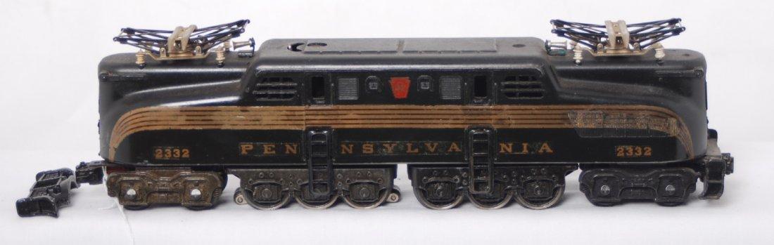 4: Lionel 2332 black Pennsylvania GG-1 electric locomot