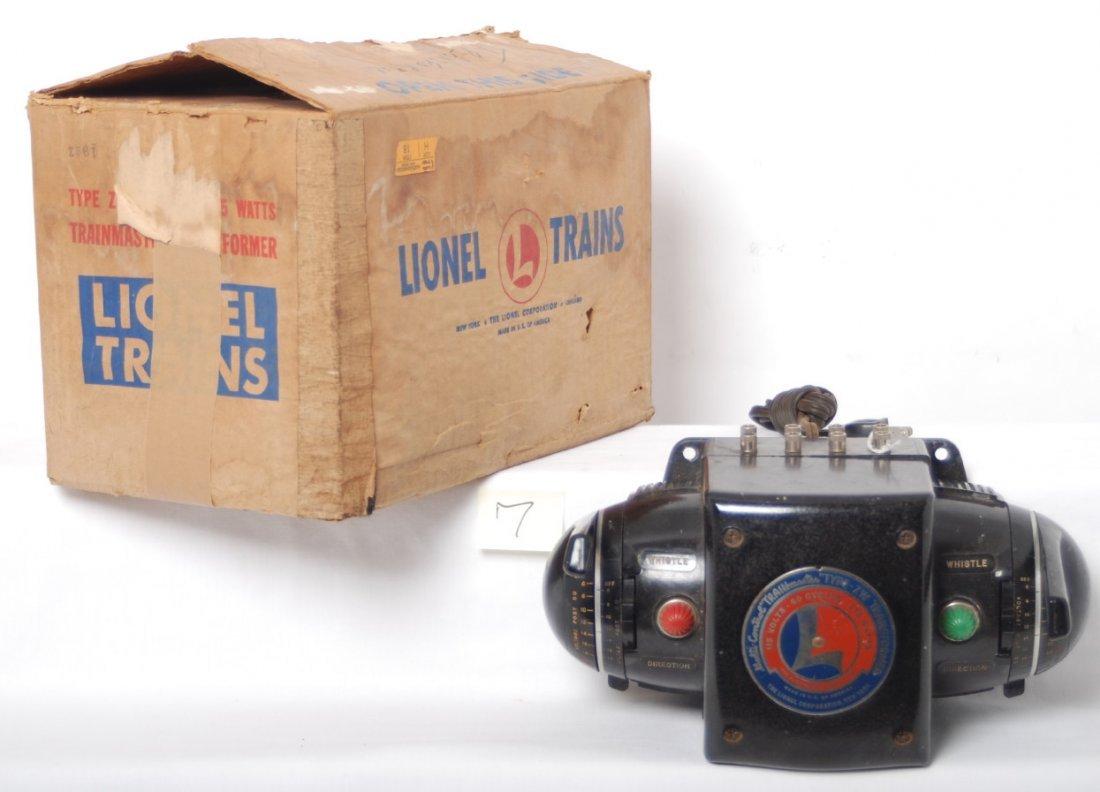 7: Lionel ZW 275 watts transformer w/inserts, orig. cor
