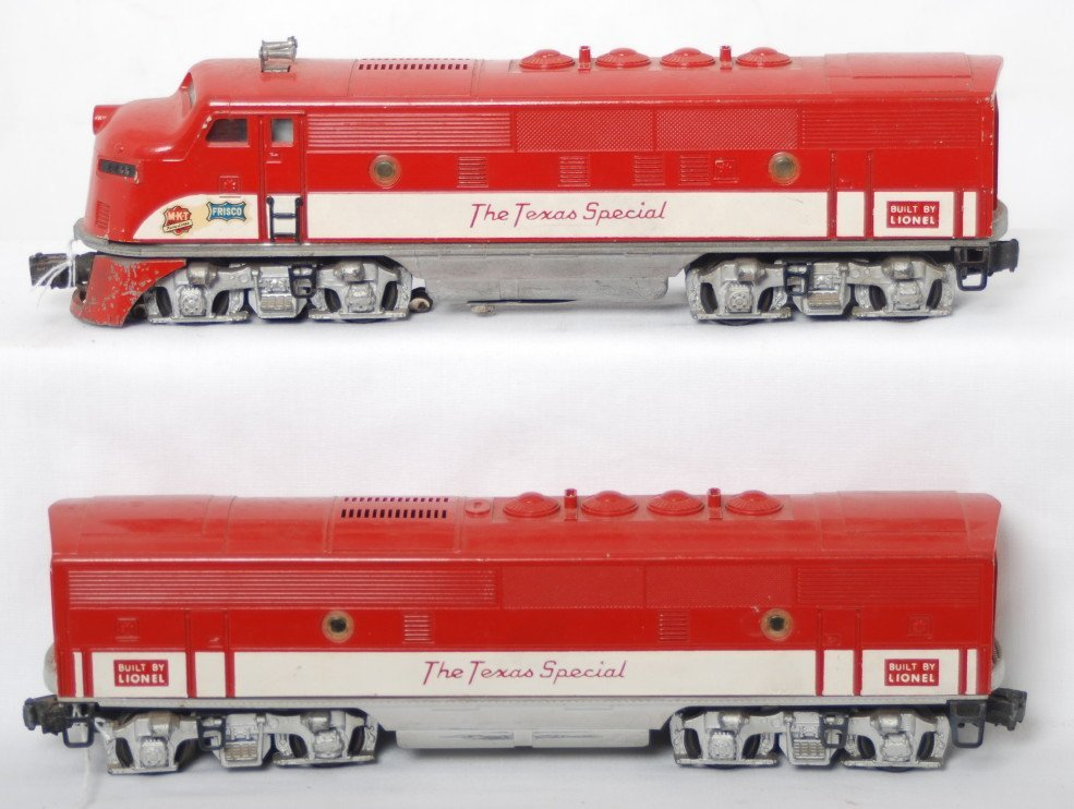 8: Lionel 2245 MKT The Texas Special F3 A-B diesel unit