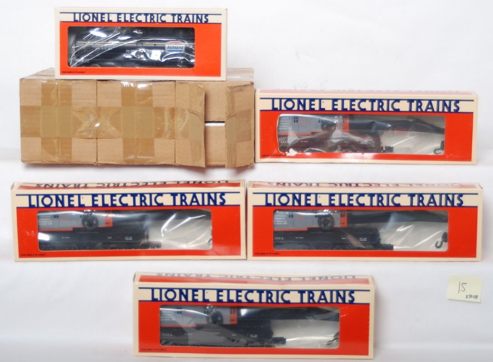 15: 10 LCCA freight cars 6567 17873
