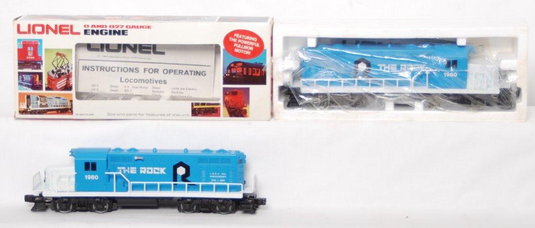 20: 2 Lionel LCCA 8068 The Rock locomotives
