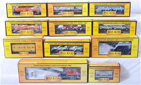 93 11 MTH Railking freight cars