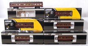 7 K Line Pennsylvania Passenger Cars