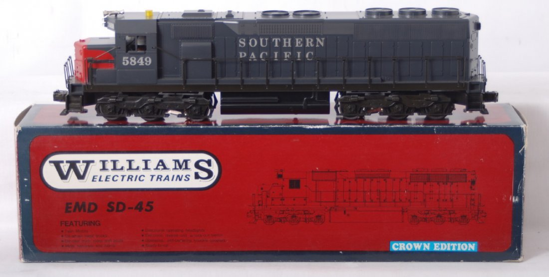 101: Williams Southern Pacific SD-45