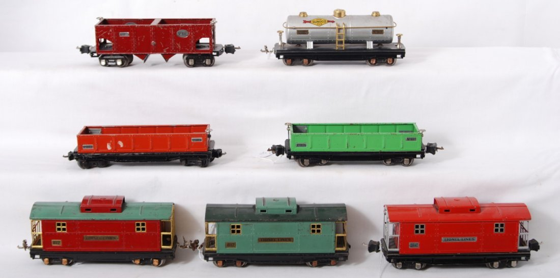 115: Lionel 812, 812, 815, 816, 817, 817, 2817 freight