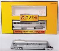 445: MTH Railking Burlington Pioneer zephyr