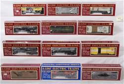 473 12 K line freight cars Rio Grande PRR etc