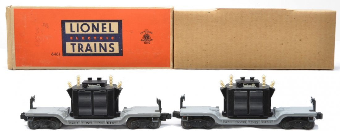 7: Lionel 6461 Transformer OB 2461 Transformer Cars
