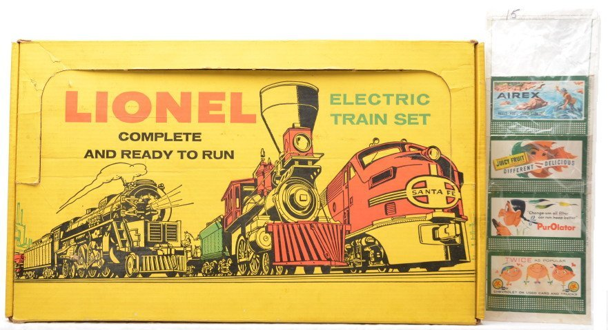 15: Lionel Set Box ONLY for 1617S Freight Set