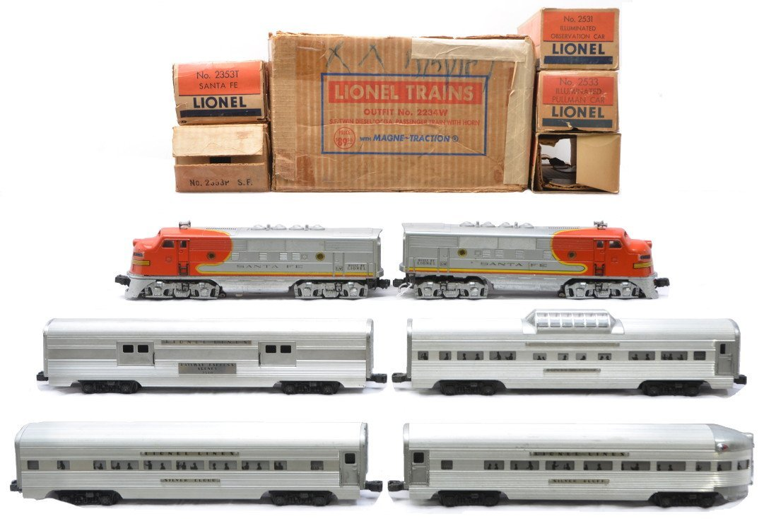 17: Lionel Super Streamliner Passenger Set no. 2234W