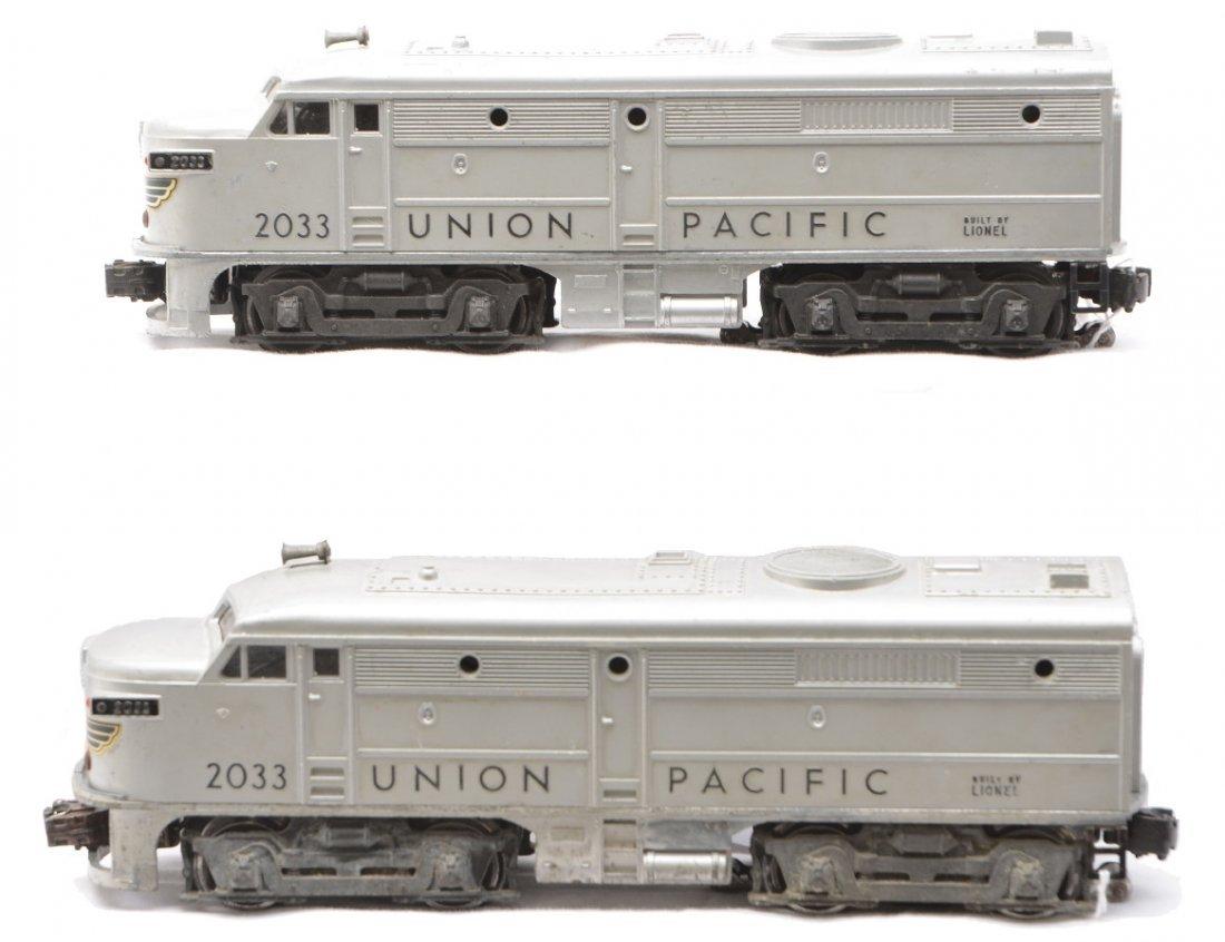 18: Lionel 2033 Union Pacific Alco AA Diesel Units