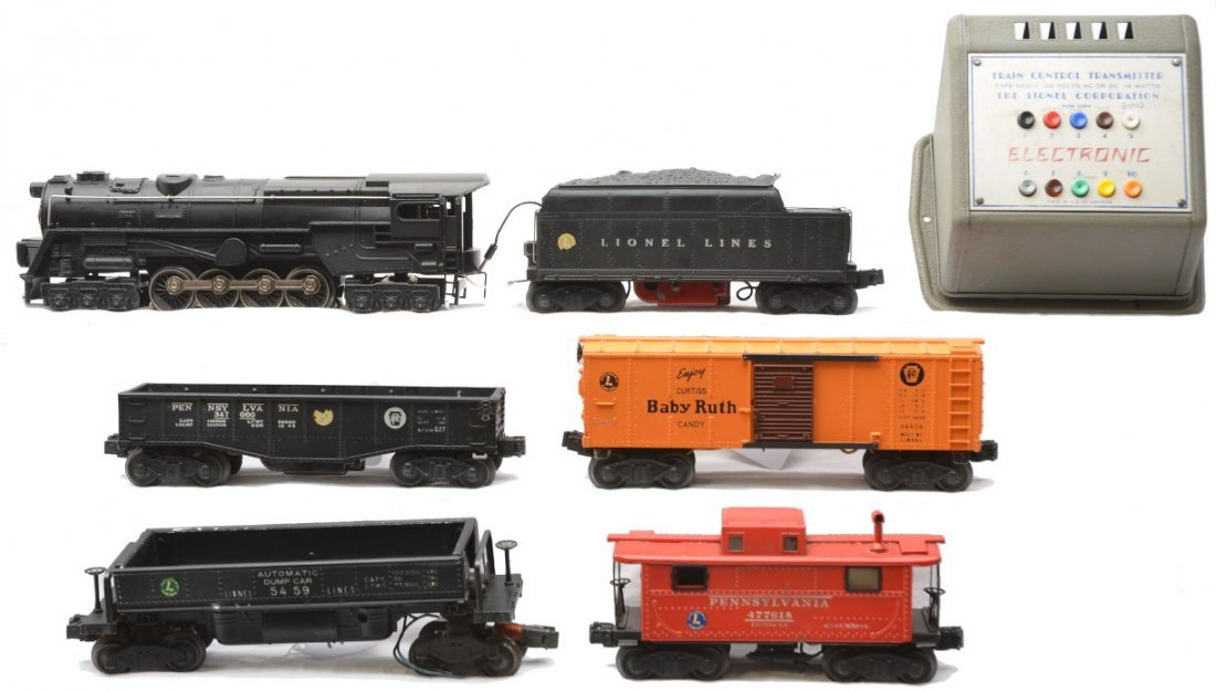 19: Lionel Electronic Control Freight Set no. 4109WS