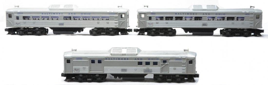23: Lionel B&O Budd RDC Passenger Set no. 2502W