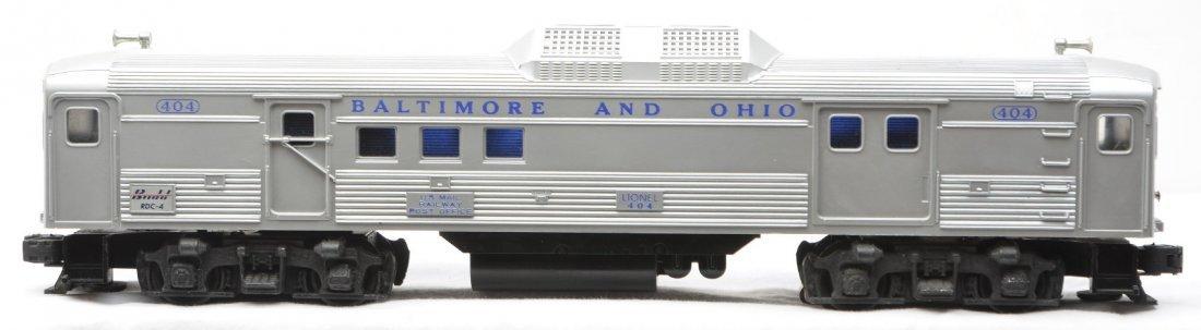 24: Lionel 404 B&O Budd RDC-4 Baggage Diesel Car - 2