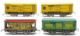 Marx Litho 4-Wheel Freights 91453 1678 1935