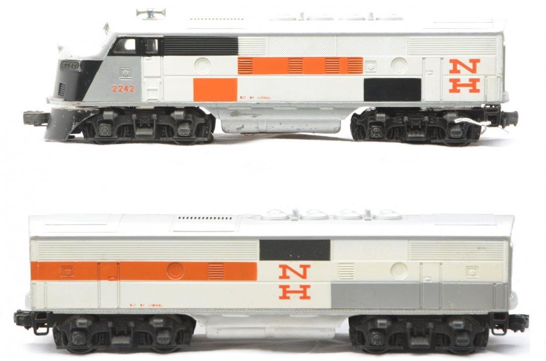 50: Lionel 2242 New Haven F3 AB Diesel Units