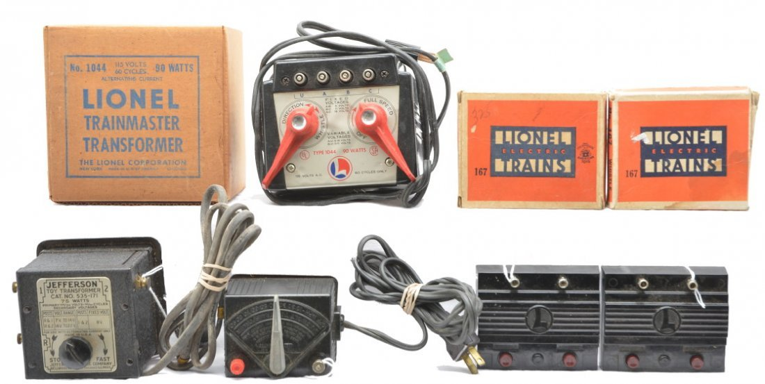 51: Lionel 1044 1025 167 167 Jefferson Transformer
